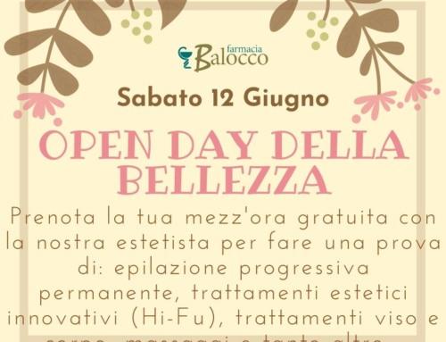Open day della bellezza 12/06/2021